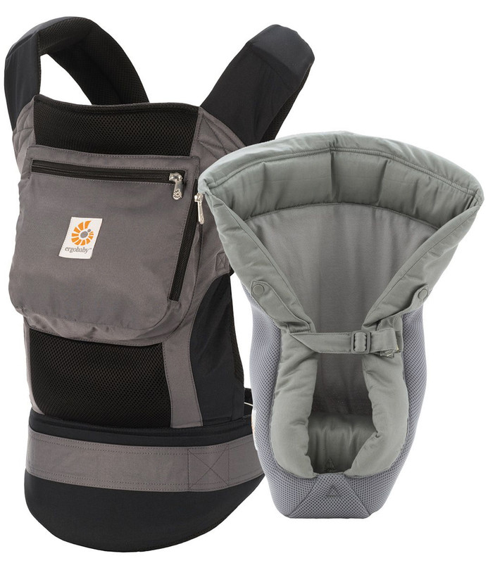 Ergobaby 3-Position Performance Carrier Bundle of Joy