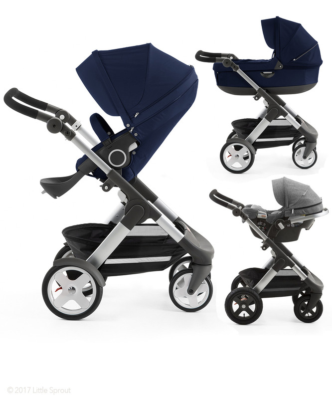 Stokke® Trailz™ Complete Stroller with Choice of Classic/Terrain Wheels