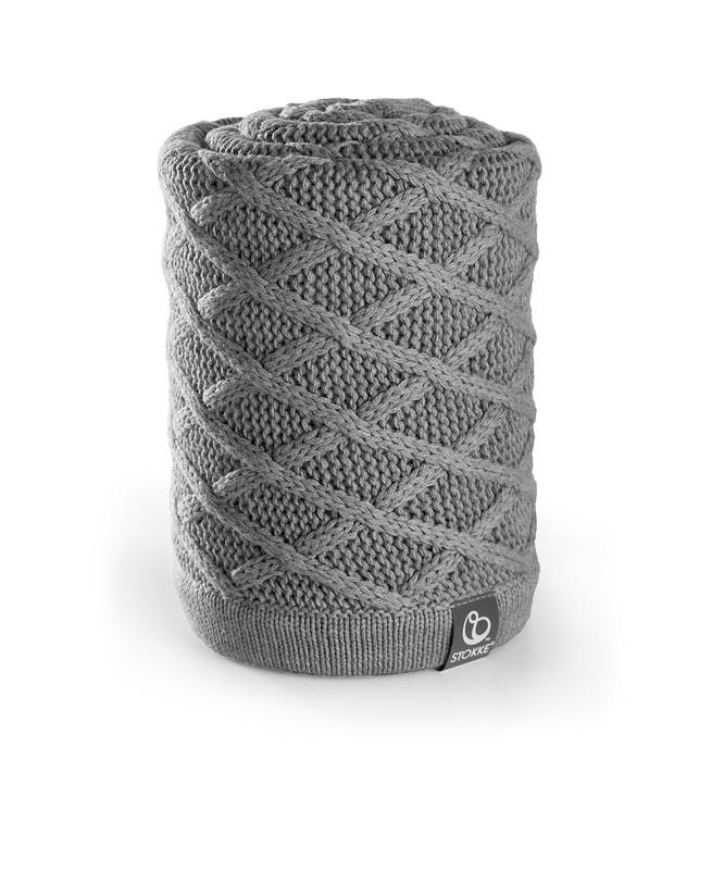 Stokke® Stroller Cable Knitted Blanket