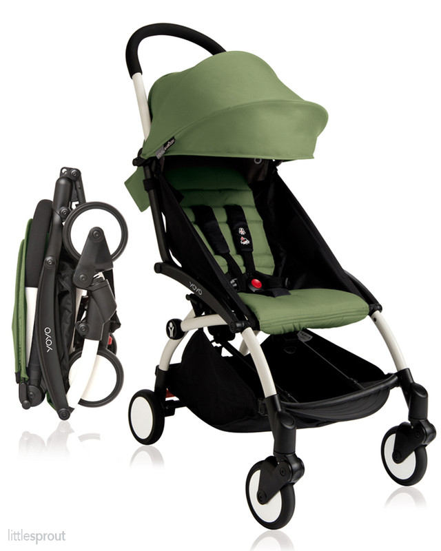 Babyzen Yoyo+ Complete Stroller with Rain Cover & Carry Bag
