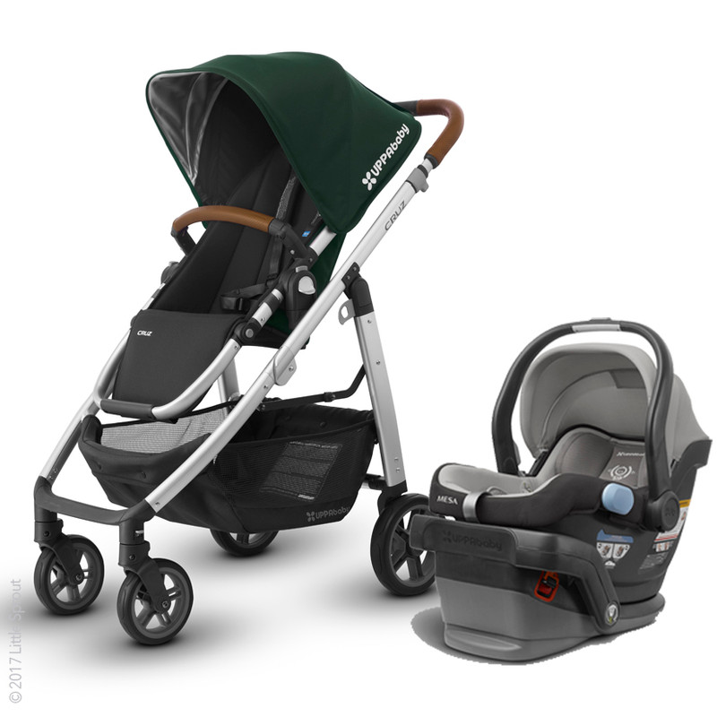 2017 UPPAbaby Cruz Stroller & Mesa Car Seat Complete Travel System