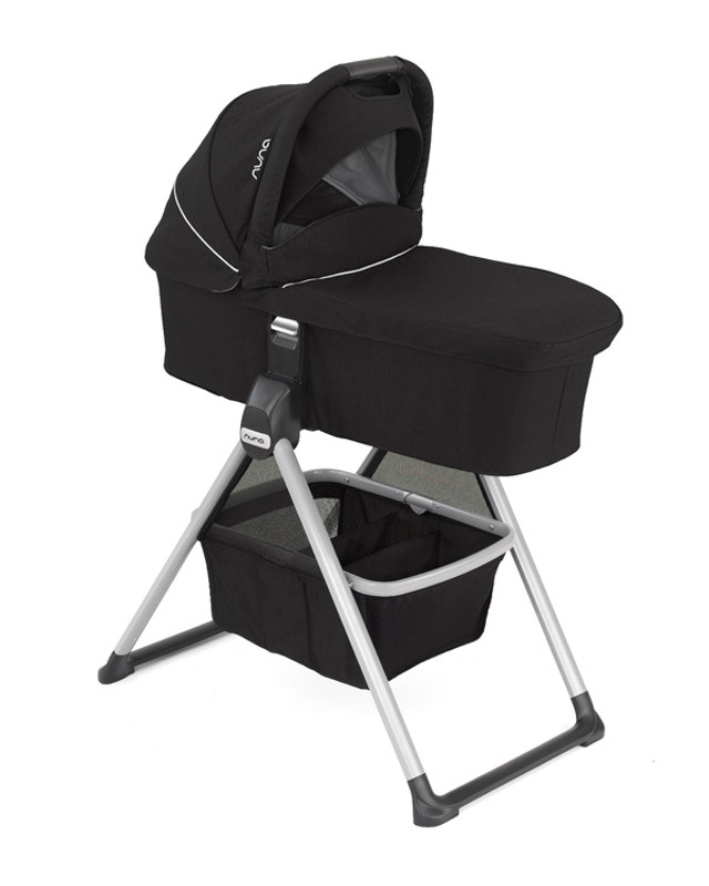 Nuna MIXX™ Stand with Basket for Bassinet and Stroller Seat