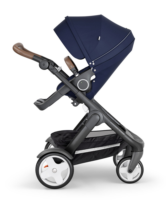 2018 Stokke® Trailz™ Stroller + Leatherette Handles