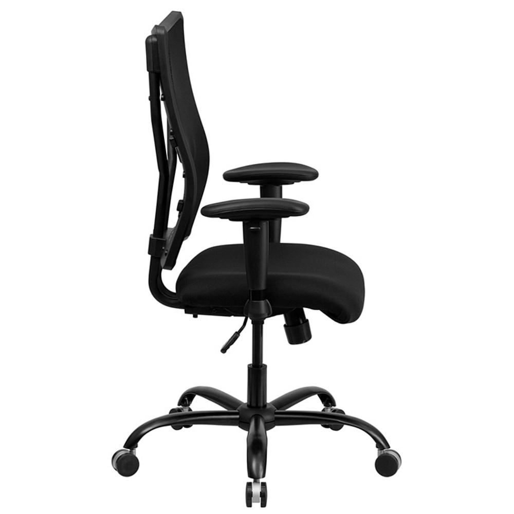 Charmant Rated Black Mesh Executive Swivel Chair Flash Furniture HERCULES Series Big  U0026 Tall 400 Lb. Rated Black Mesh Executive Swivel Chair ...
