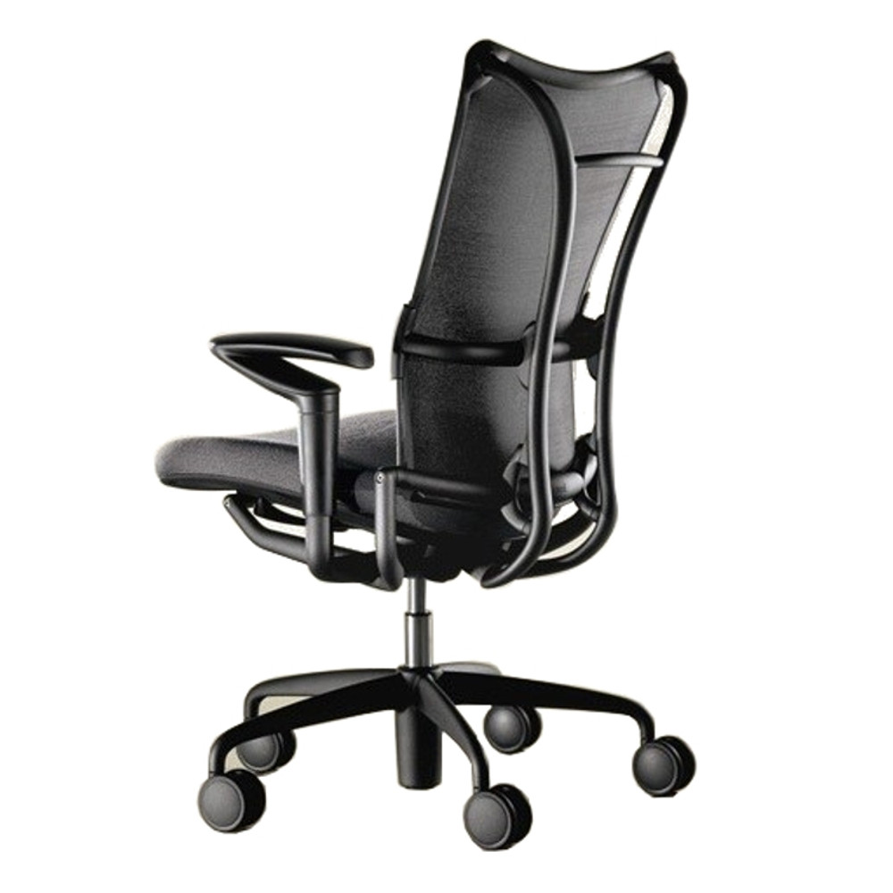 allsteel 19 office chair in black
