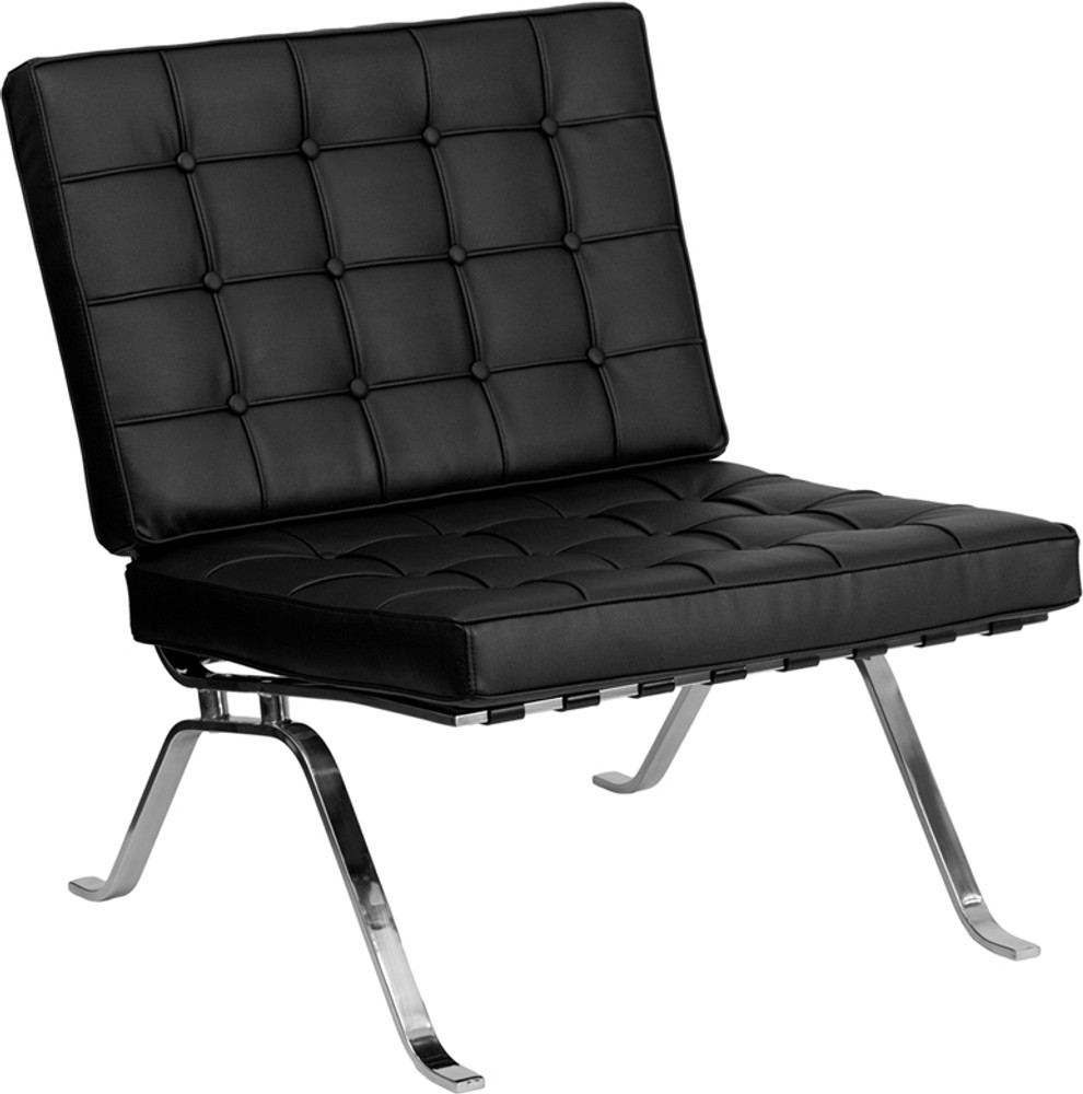 Lemoderno Barvilo Office Series Leather Lounge & Ottoman Set