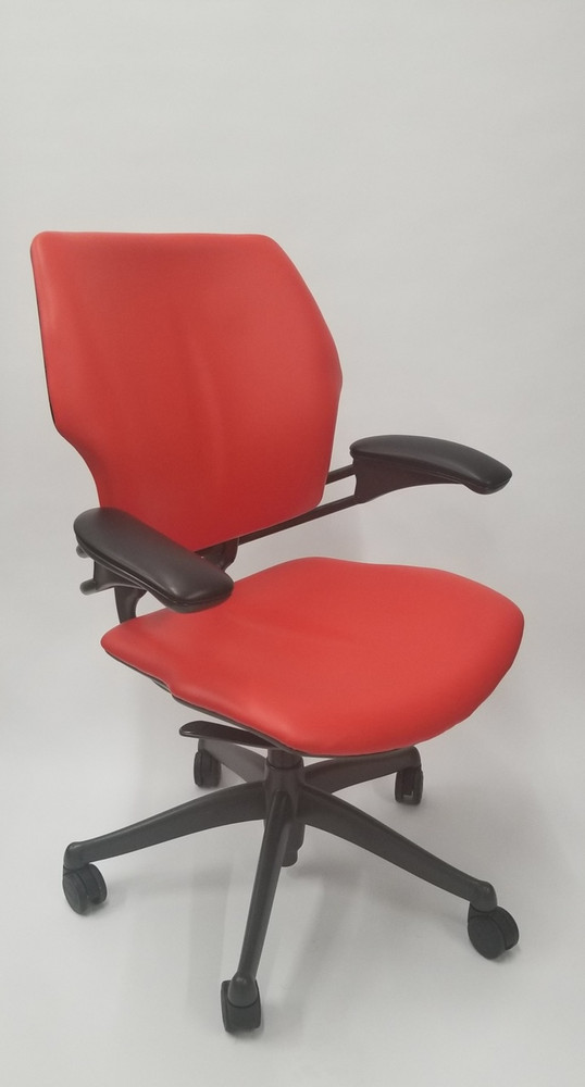 Humanscale Freedom Chair Fully Adjustable Model Red