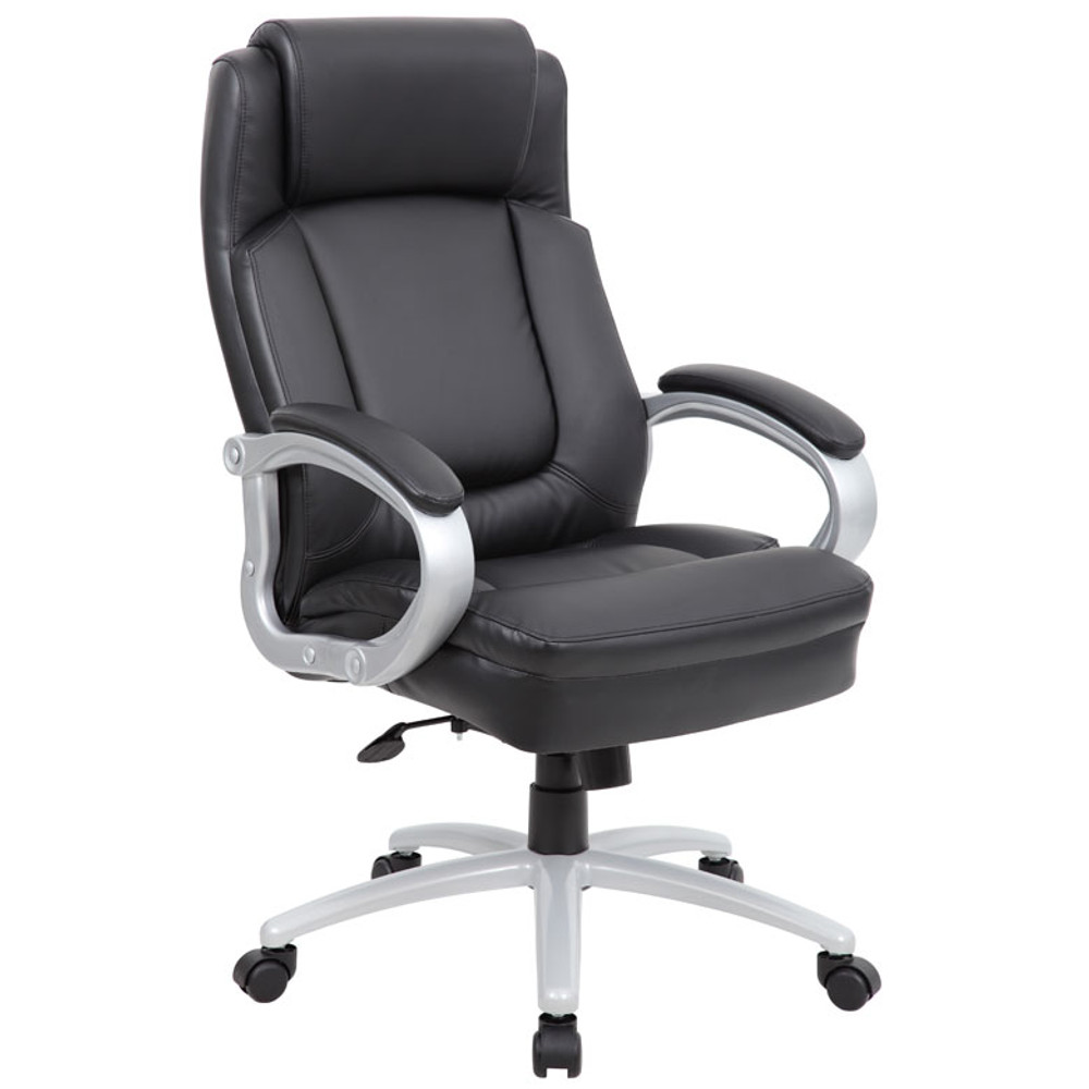 Boss Heavy Duty Extra-Comfort Executive Chair. B993S-BK