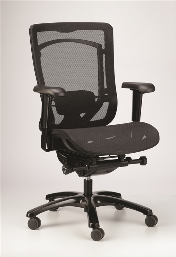 eurotech office chairs. Eurotech Monterey Office Chair In Black Fabric Mesh Back Chairs A