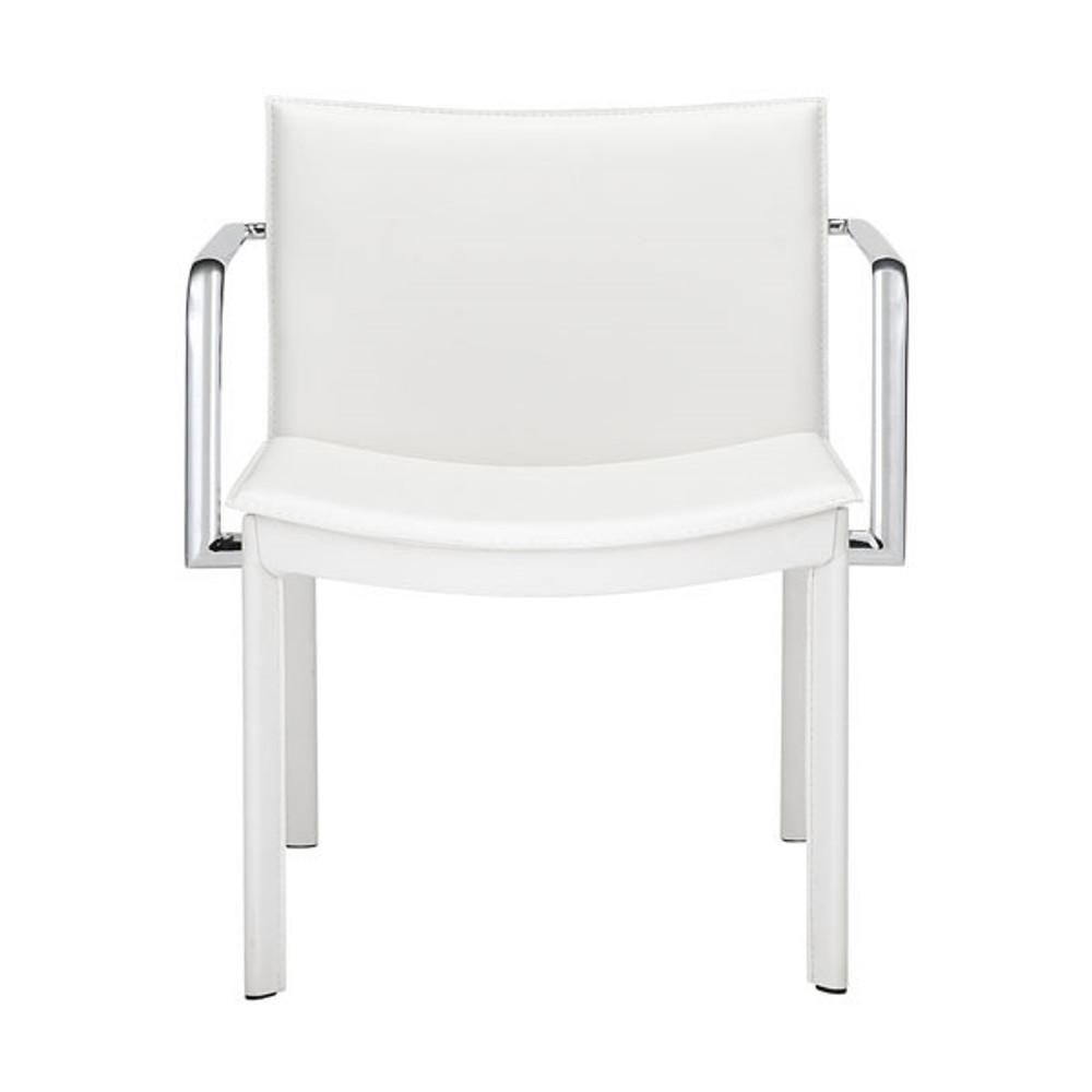 Zuo Modern Gekko Conference Chair White Seatingmind Com
