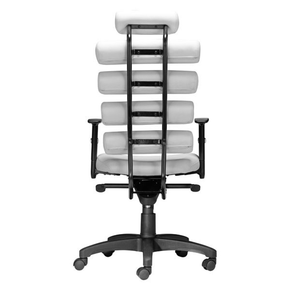 Zuo Modern Unico Office Chair White Seatingmind Com