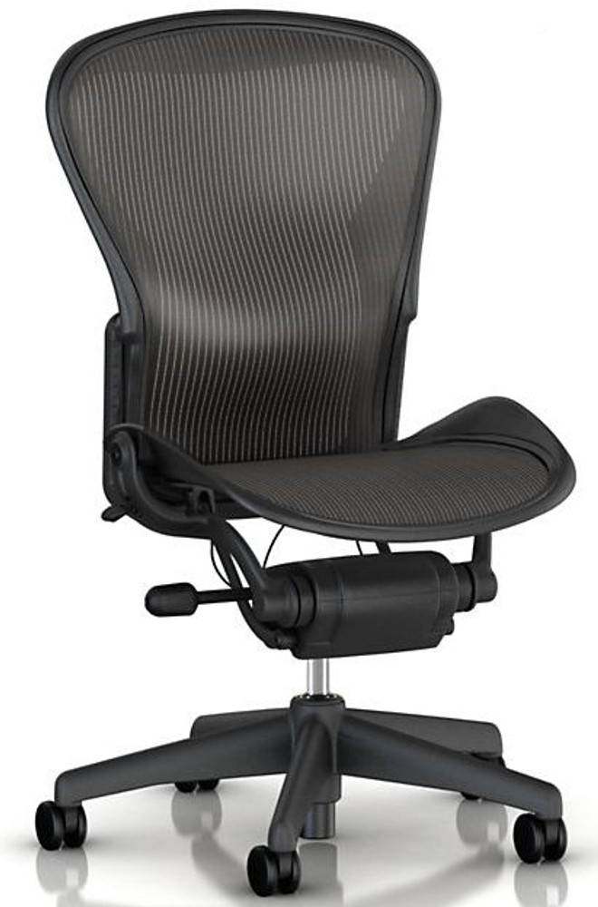 Herman Miller Aeron Chair Size B No Arms