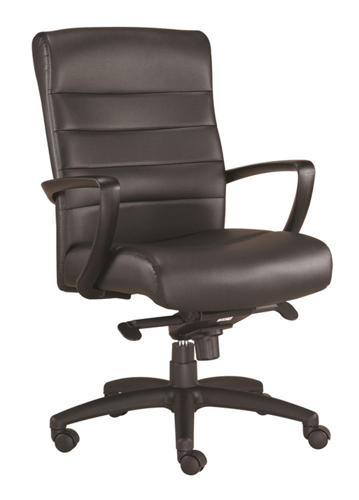 sc 1 st  Seating Mind & Eurotech Manchester Mid Back Office Chair in Black Leather