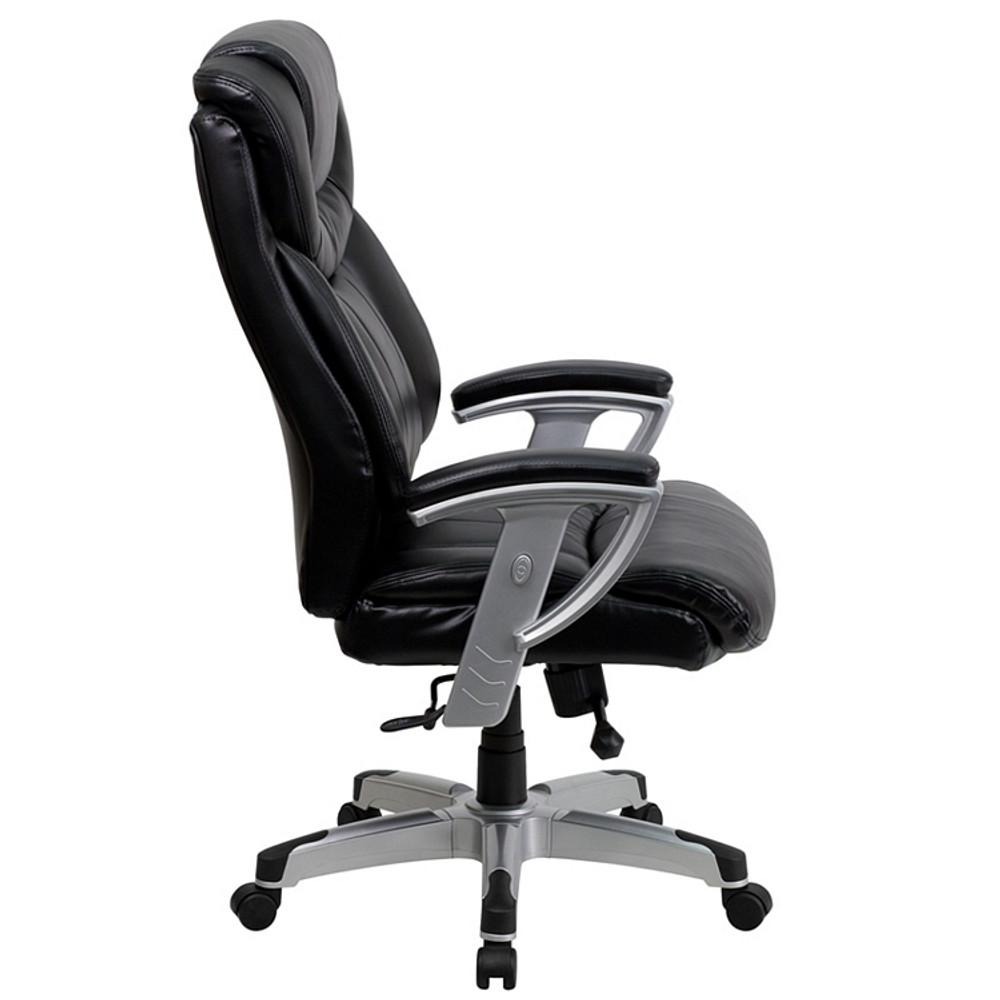 Beau Rated Black Leather Executive Swivel Chair Flash Furniture HERCULES Series  Big U0026 Tall 400 Lb. Rated Black Leather Executive Swivel Chair ...