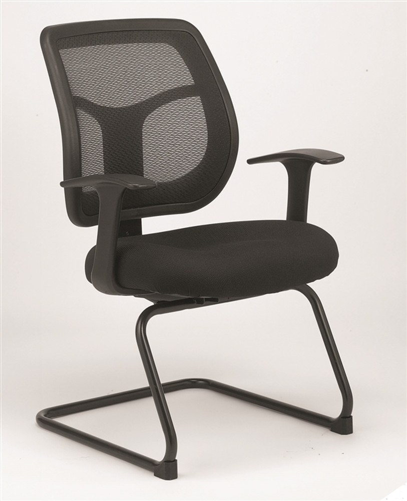 Eurotech Apollo Guest Chair in Black & Eurotech Apollo Guest Chair in Black - seatingmind.com
