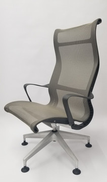 Herman Miller Setu Lounge Chair with Casters