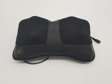 Lemoderno Shiatsu Pillow Massager with Heat for Back, Neck, Shoulders