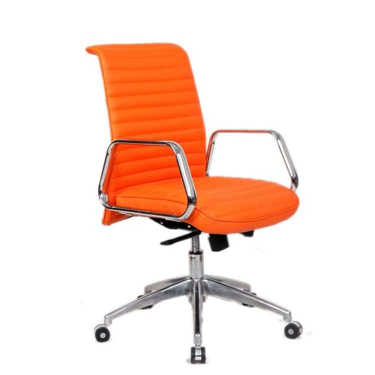 Fine Mod Ox Office Chair Mid Back, Orange