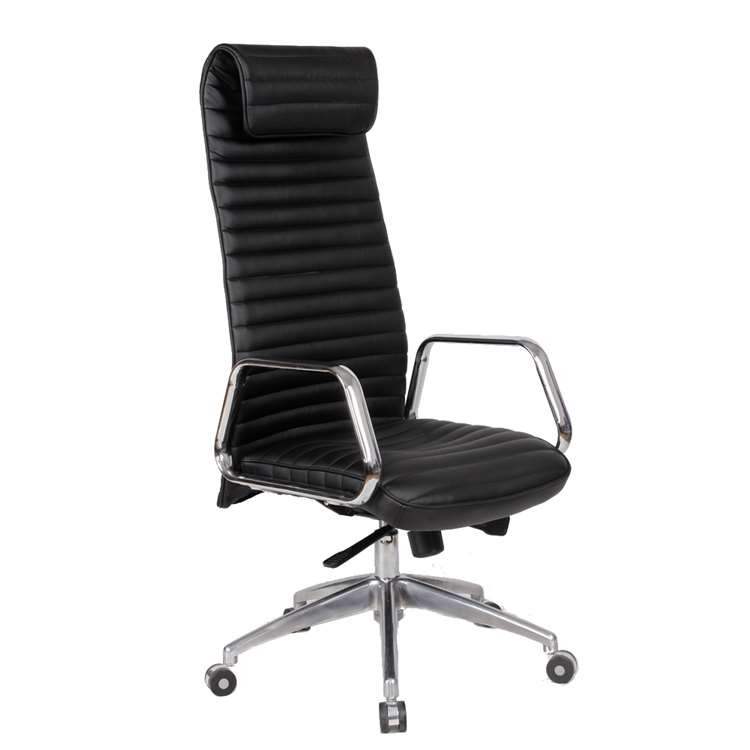 Fine Mod Ox Office Chair High Back, Black