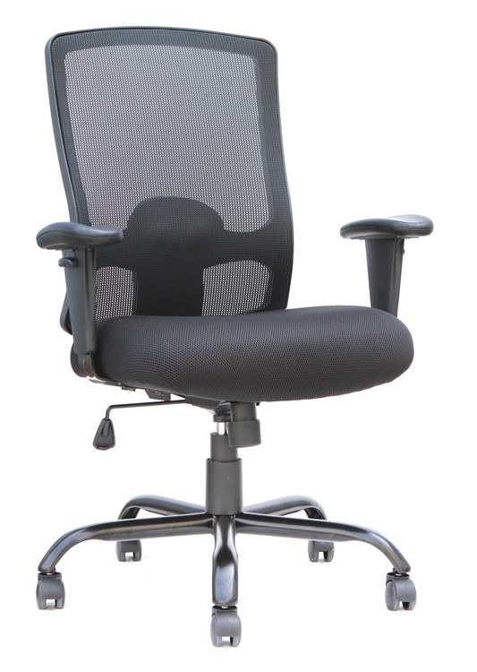 Eurotech Big and Tall Office Chair in Black
