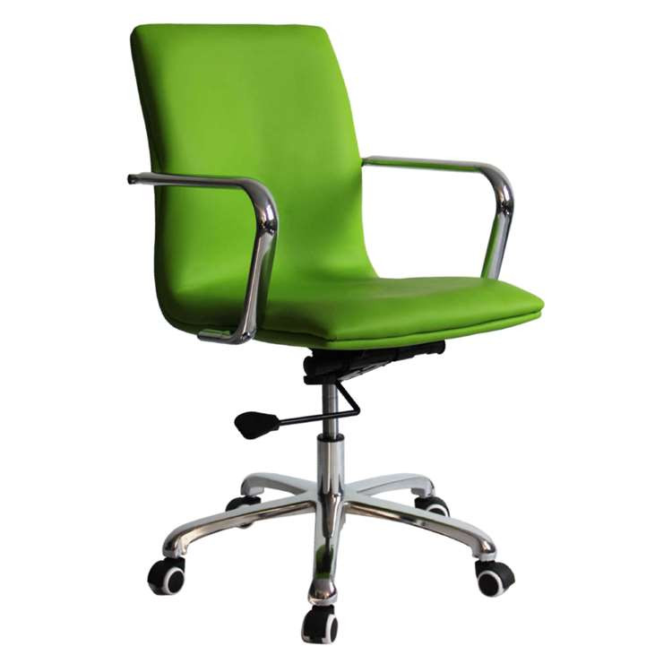 Fine Mod Confreto Conference Office Chair Mid Back, Green