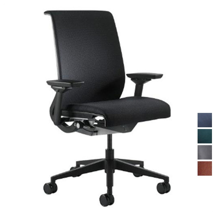 Steelcase Think Chair Fabric Fully Adjustable Model