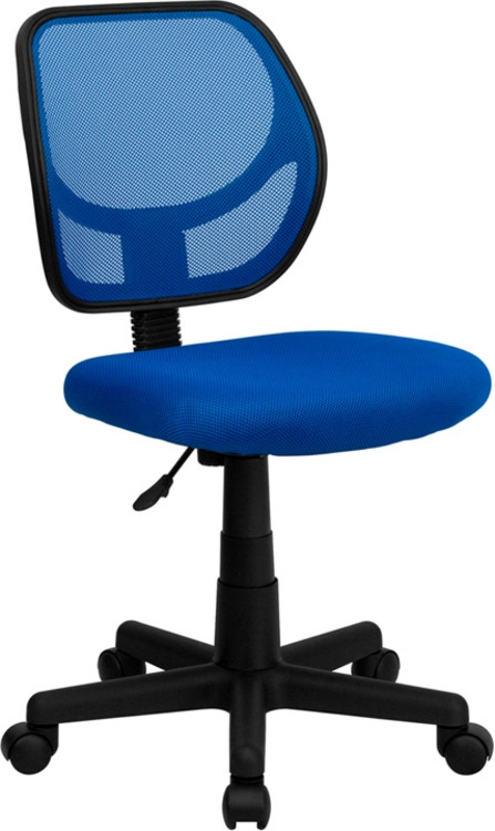 Flash Furniture Blue Mesh Swivel Task Chair