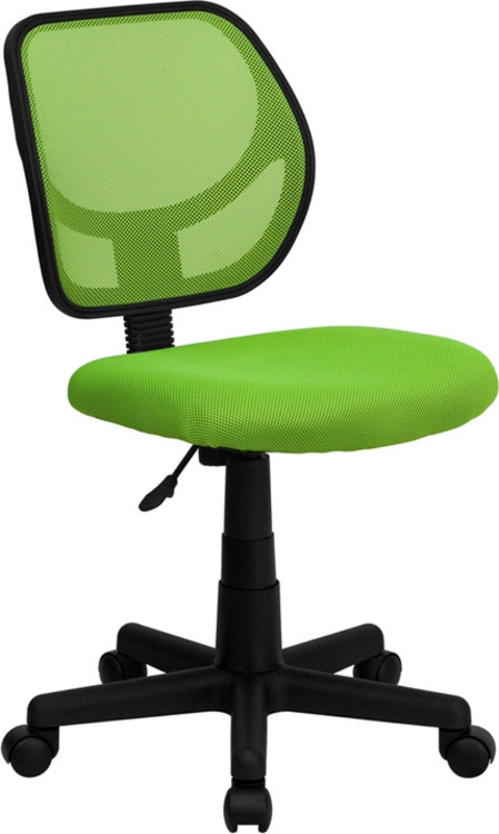Flash Furniture Green Mesh Swivel Task Chair