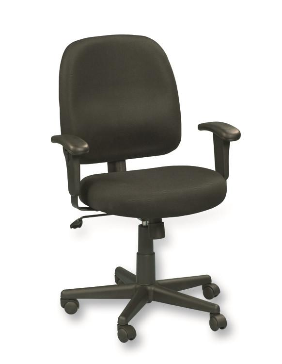 eurotech newport mesh office chair in gray