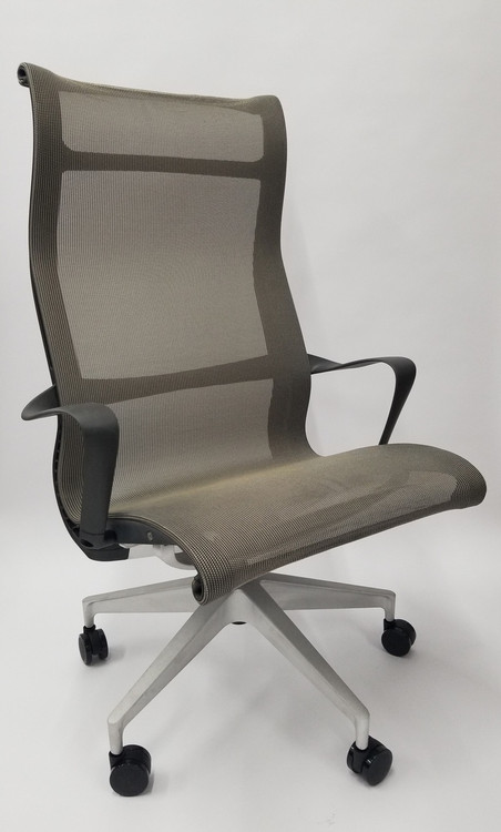 Bulk Lot 90 of Herman Miller Setu Lounge Chair with Casters