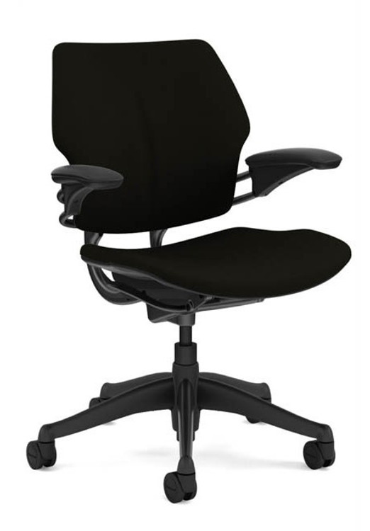Bulk Lot Deal 100 Humanscale Freedom Chair Fully Adjustable Model in Black