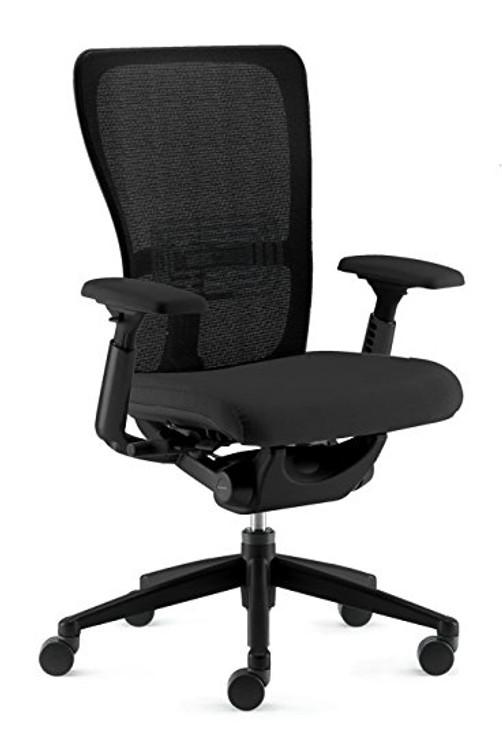 Bulk Lot 50 Haworth Zody Chair Mesh Back Black Mesh Semi Adjustable Model