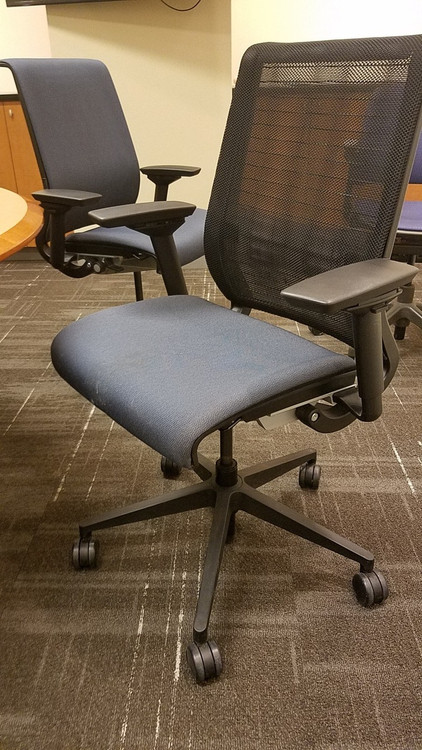 Bulk Lot 100 Steelcase Think Chairs Mesh Fully Adjustable Model