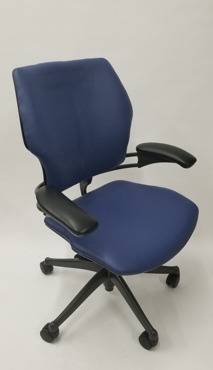 Humanscale Freedom Chair Fully Adjustable Model Navy