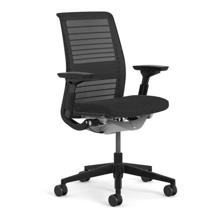 Steelcase Think Chair V2 Model 4 Way arms and lumbar