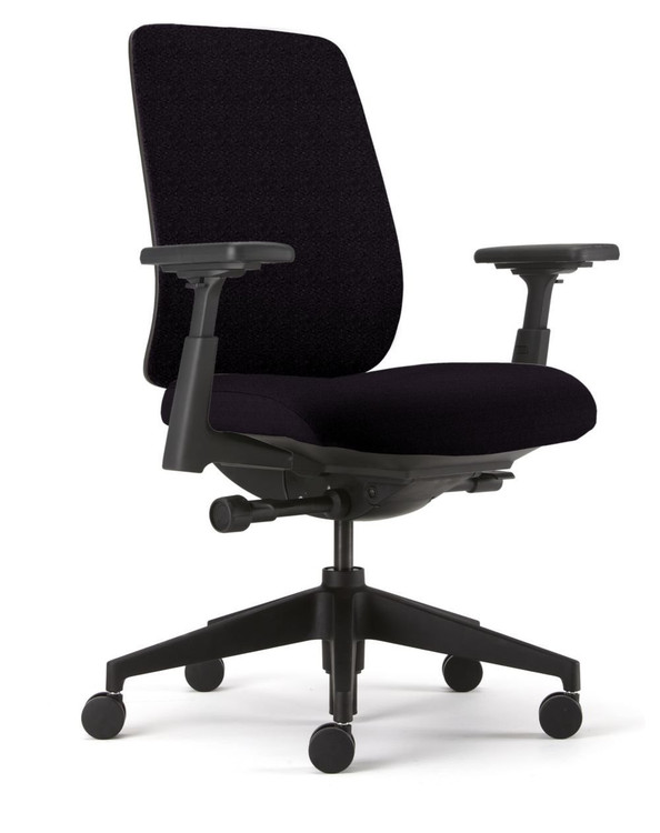 Haworth Lively Chair Fully Adjustable Model 4-D Arms - Lumbar Support