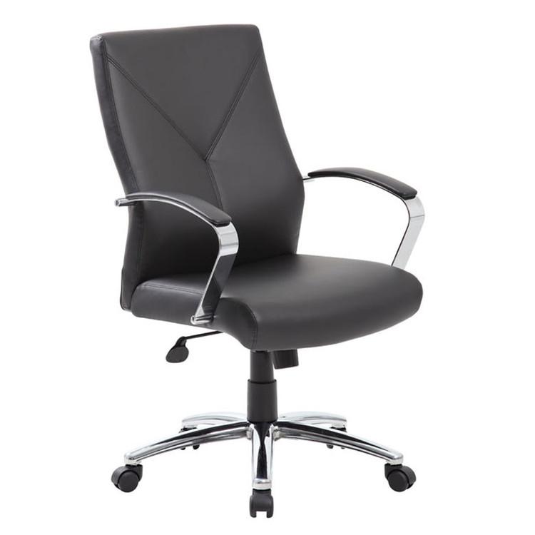 Boss LeatherPlus Executive Chair B10101-BK