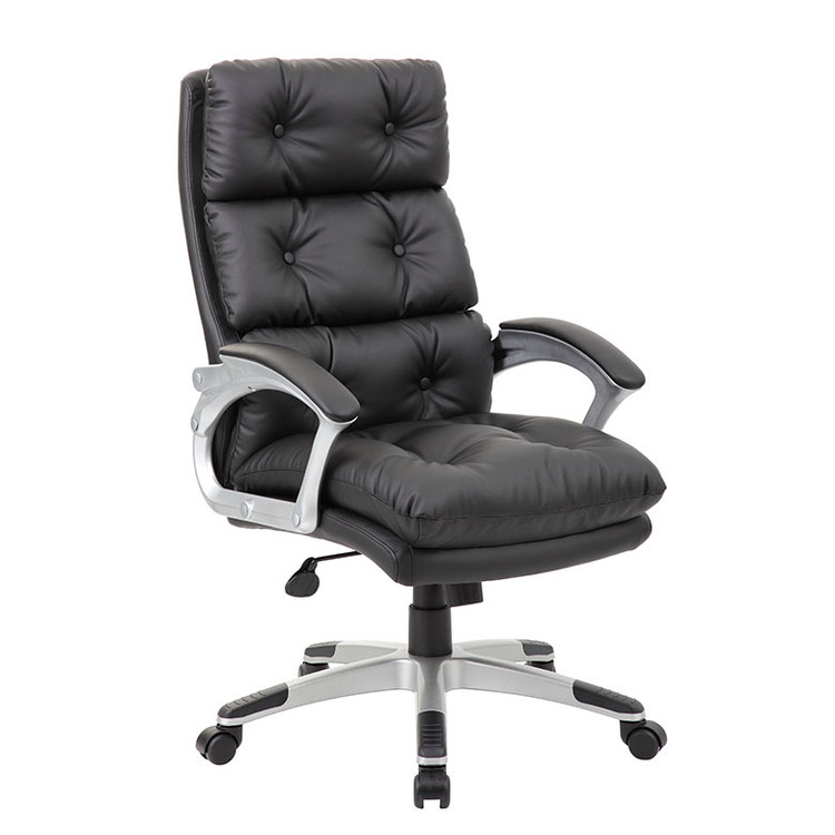 Boss Button Tufted Executive Chair B7371-BK