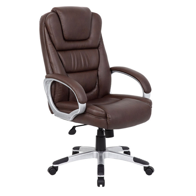 "Boss ""NTR"" Executive LeatherPlus Chair B8601-BB"
