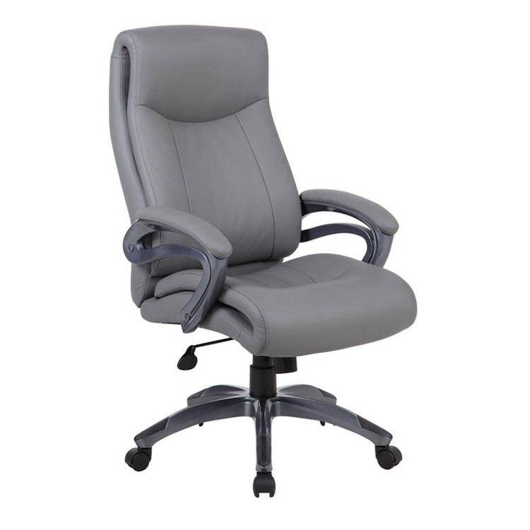 Boss Double Layer Executive Chair B8661-GY