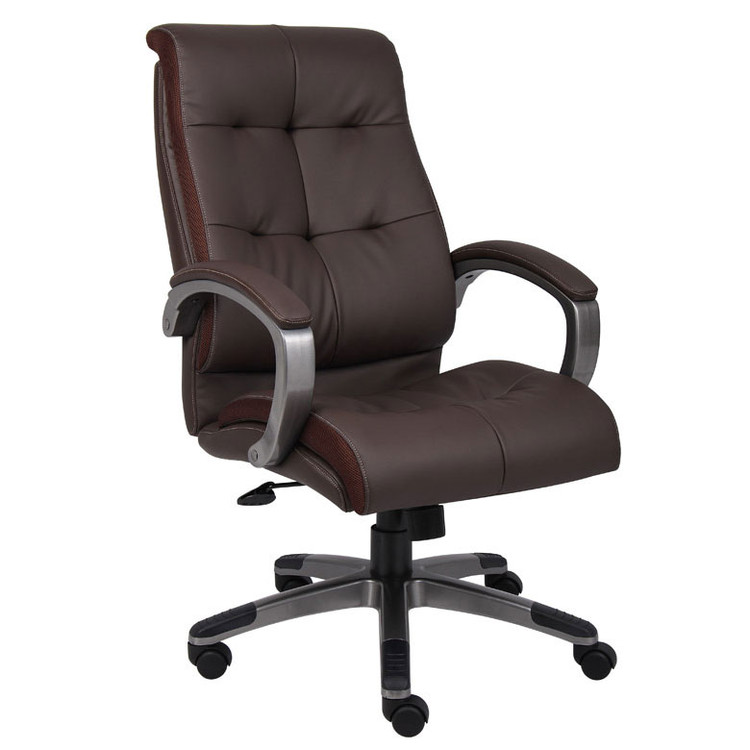 Boss Double Plush High Back Executive Chair B8771P-BN