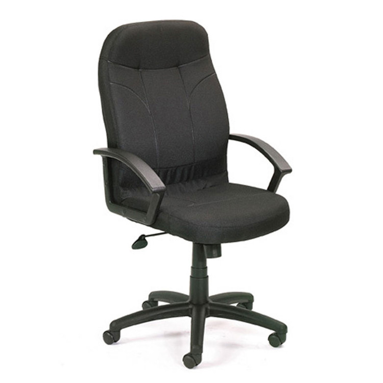 Boss Executive Fabric Chair In Black B8801-BK