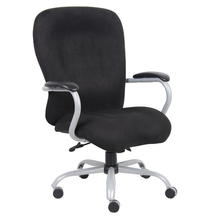 Boss Heavy Duty Microfiber Chair - 350 Lbs.  B990