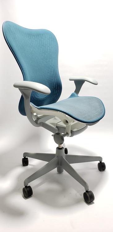Herman Miller Mirra V2 Chair In Teal