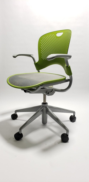 Herman Miller Caper Chair in Green