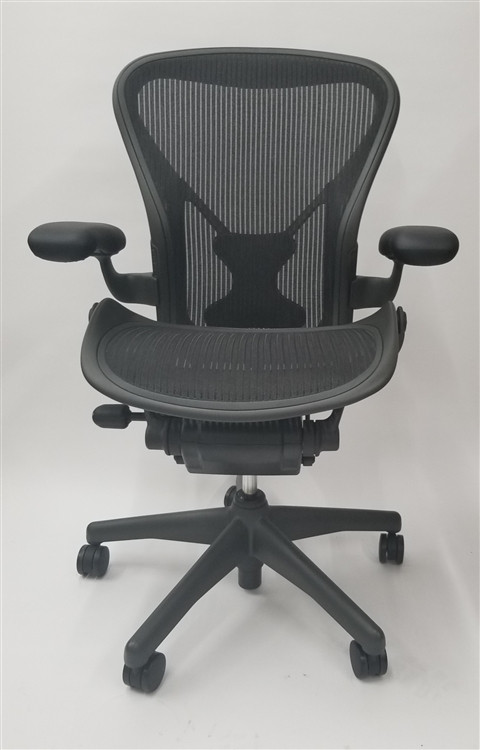 Herman Miller Aeron Chair Size B (or C) Basic Model With Posturefit