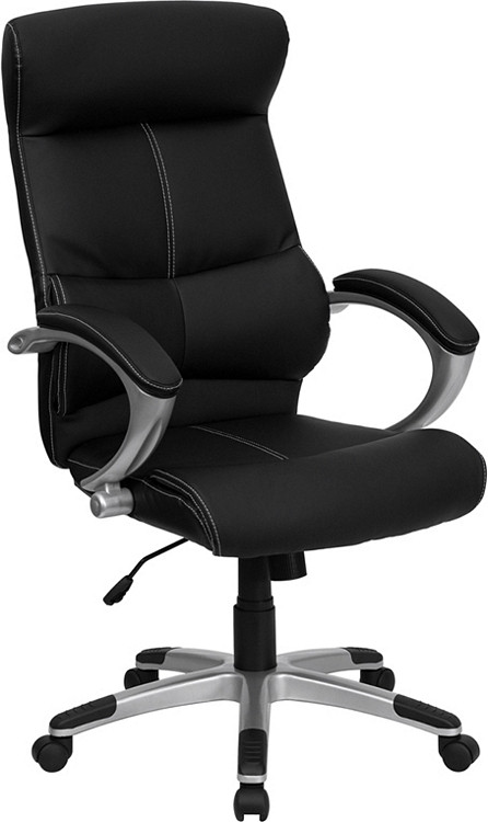 Flash Furniture High Back Black Leather Executive Swivel Chair 1