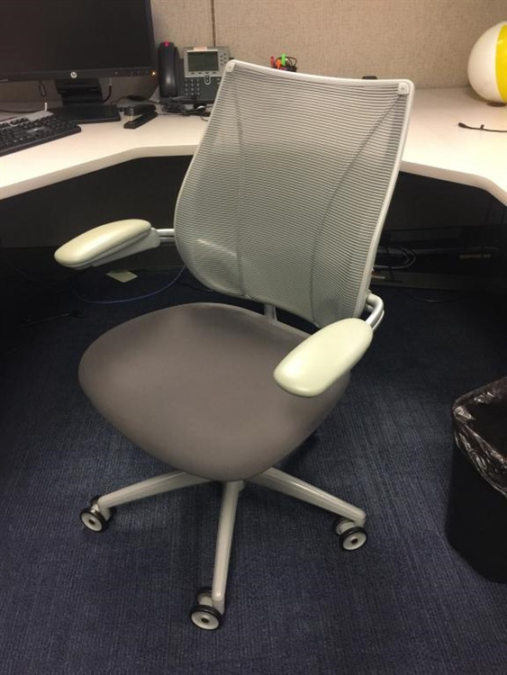 Humanscale Liberty Chair Gray Fully Adjustable Model