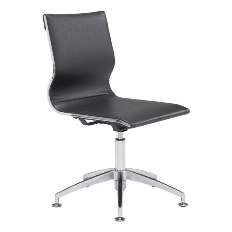 Zuo Modern Glider Conference Chair Black