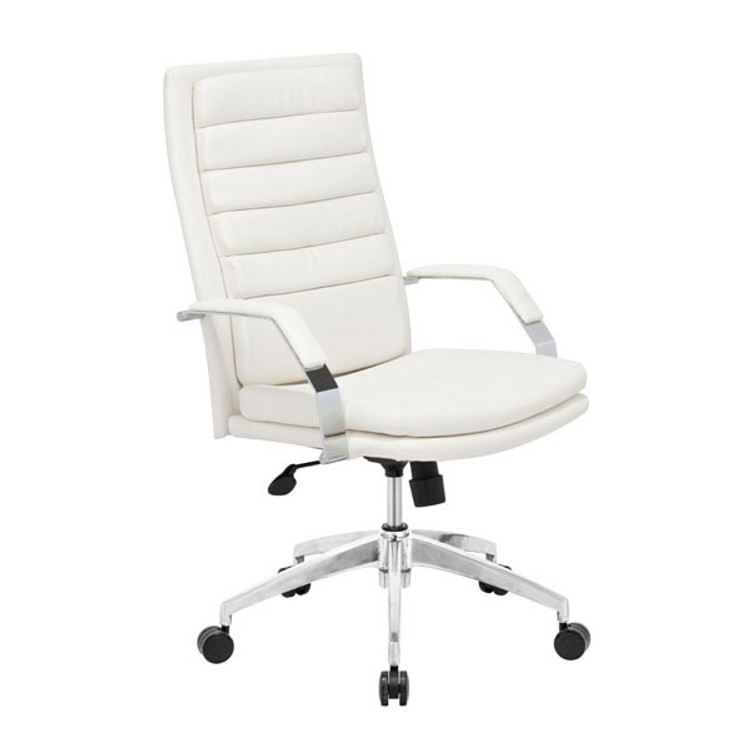 Zuo Modern Director Comfort Office Chair White
